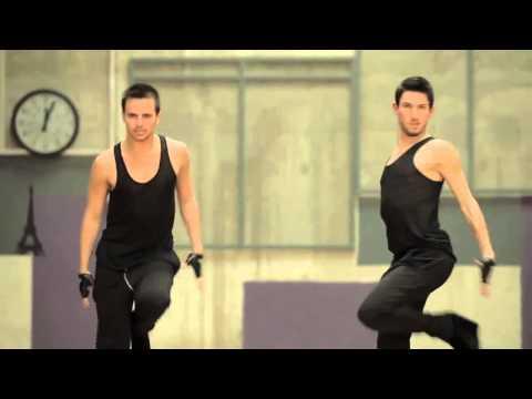 YANIS & ANDREA   LA MEILLEURE DANSE W9 M6  INEDIT  GRACE DANCING ON MY OWN  STREET JAZZ HEEL'S