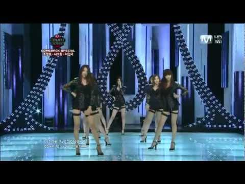 Nine Muses - No Playboy 100812 Debut Stage  M!countdown video