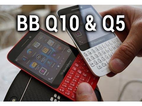 BlackBerry Q10 et Q5, vidéo de présentation - par Test-Mobile.fr