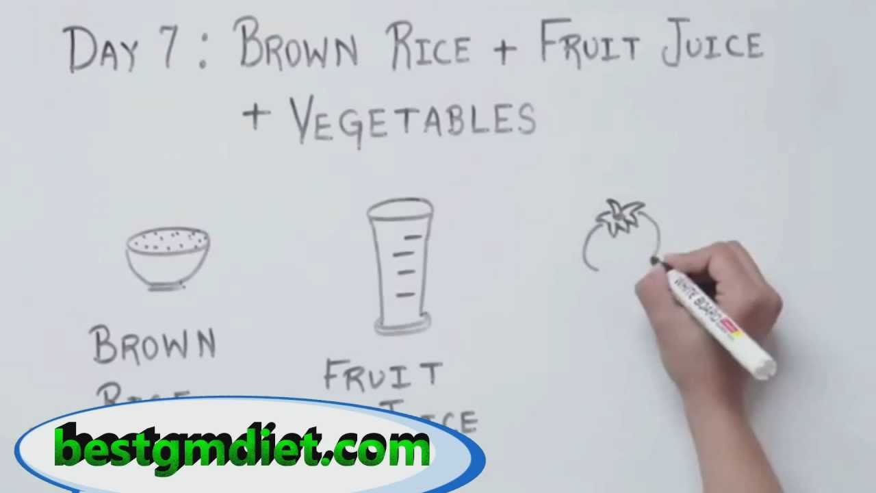 Gm Diet Plan General Motors Diet Youtube