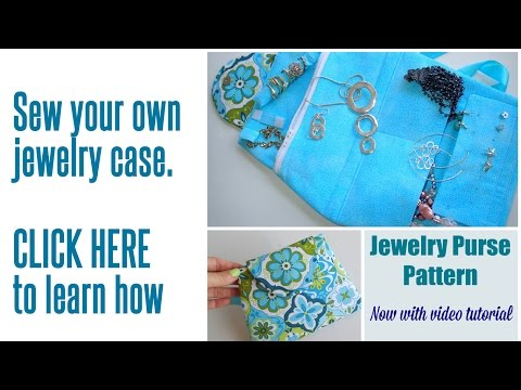 Sew your own jewelry case
