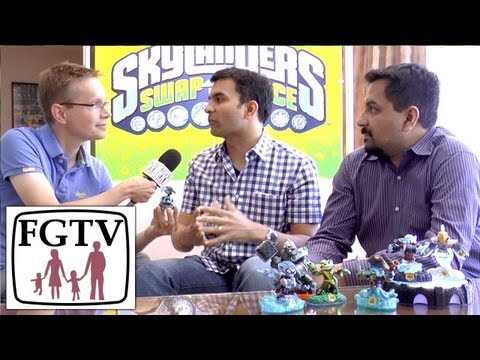 CEOs Talk Skylanders Swap Force PS4/Xbox One vs Wii. Gender. Combos. Reposed Giants. Adventure Packs