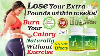 Go4Slim Capsules & Diet Pills: Lose Weight Fast With Go for Slim Capsule & Tablets | Weight Loss