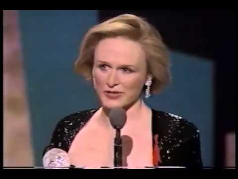 Glenn Close wins 1992 Tony Award for Best Actress in a Play