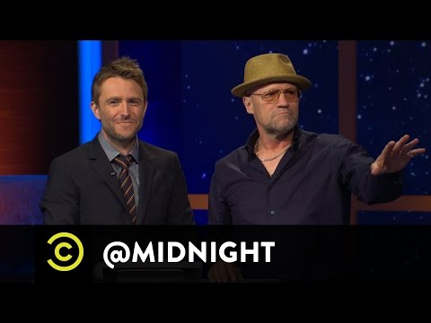 Michael Rooker, Nikki Glaser, Phil Hanley, Joe DeRosa - Rooker of the Year - @midnight