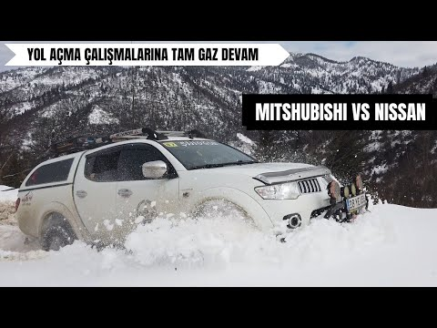 Mitsubishi L200 vs Nissan NAVARA/SKYSTAR