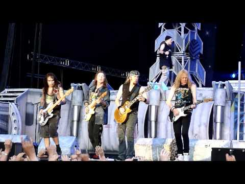 Iron Maiden - Hallowed Be Thy Name (Live, Helsinki, July 8th, 2011)