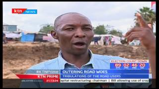 Construction of Outering road has caused mixed fortunes as many look forward to better roads