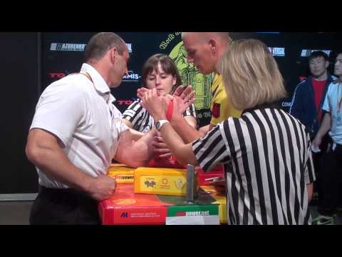 World Armwrestling Championship 2014, day 3, eliminations