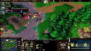 Fly(ORC) vs 120(UD) - WarCraft 3 Frozen Throne - RN2882