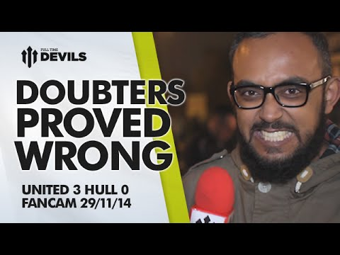 PROVED DOUBTERS WRONG | Manchester United 3 Hull City 0 | FANCAM