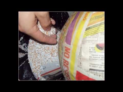 paso a paso de jarron reciclado con papel y cascaras de huevo