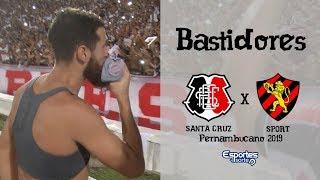 TV Coral - BASTIDORES - Santa Cruz 1x0 Sport - Pernambucano 2019