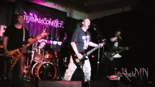 Line of Fire performing Bad News @ the Firebug, 07/03/2015