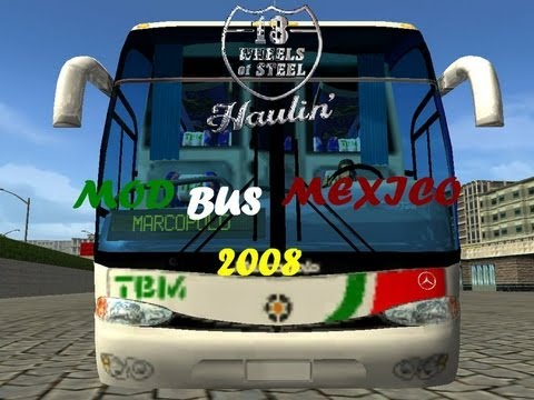 descargar mod bus para 18 wheels steel haulin.mp4