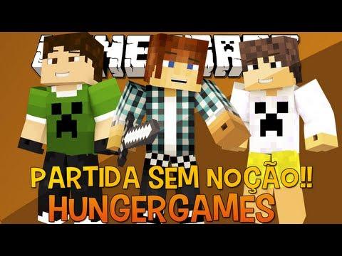 Hunger Games sem Noção !!  (c/Caue e Cronos) - Minecraft