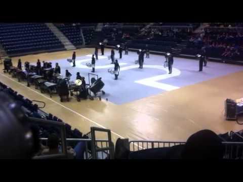 Big Blue Indoor Percussion at Itawamba Community College 4/