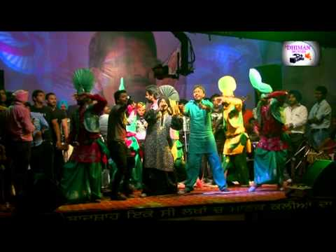 Dhiman Movies Resham  Singh Anmol Live Kangna 2012 Ambala City Kuldeep Manak Memorial Sound Arjan Gill video