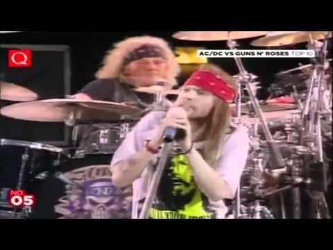 Guns n' Roses-Knocking on Heavens door HD LIVE