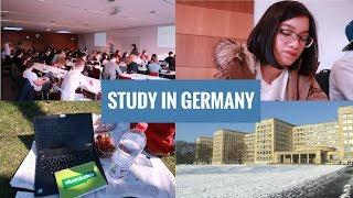 DU HỌC ĐỨC 🇩🇪: Một Ngày Đi Học Của Du Học Sinh Đức | Visit My University (P1) | GERMANESE