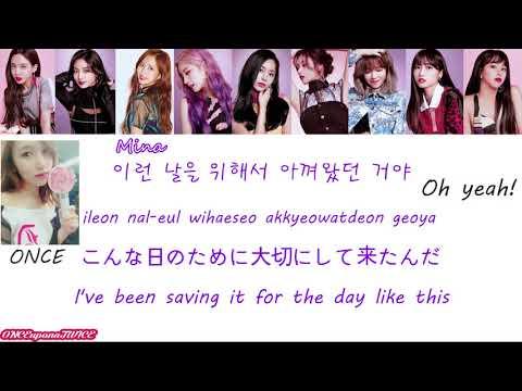 TWICE 트와이스 - BDZ Korean Ver. & 응원법 한국어 버전 HAN/ROM/ENG Color Coded Lyrics & ONCE Fanchants トゥワイス 歌詞