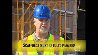 Scaffolding Safety English Pt. 1