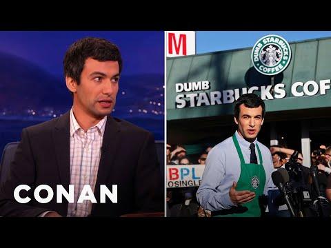 """Nathan Fielder On His """"Dumb Starbucks"""""""