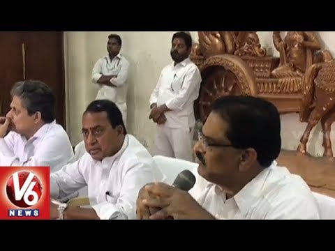Minister Indrakaran Reddy Holds Review Meet With Endowment Deportment Officers | V6 News