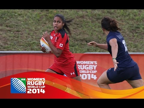 [HIGHLIGHTS] Canada 31-7 Spain at Women's Rugby World Cup