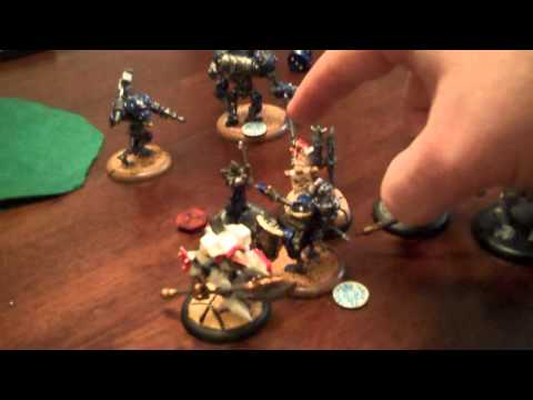 26 Pt Warmachine Batrep with TonyPonyF   Cygnar vs Menoth  Part4