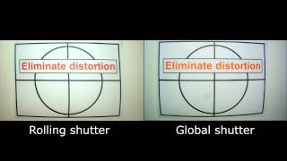 Rolling vs Global shutter - vibration test