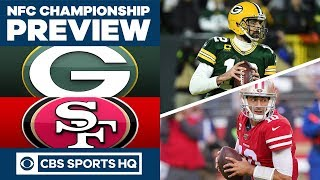 NFC Championship Preview 2020: Green Bay Packers vs San Francisco 49ers | CBS Sports HQ