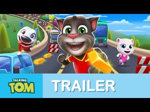 Talking Tom Gold Run - Official Launch Trailer