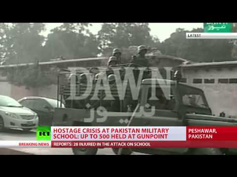 Taliban takes hundreds of students hostage in Pakistan school, several killed