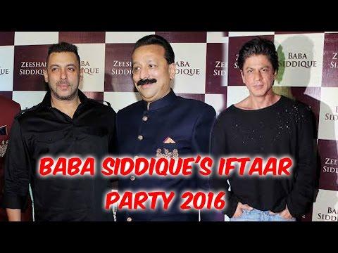 Baba Siddique's Iftaar Party 2016 | Salman Khan | Shah Rukh Khan | Bipasha Basu