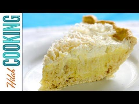Coconut Cream Pie Recipe - How To Make Coconut Cream Pie