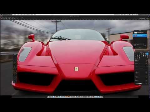 Pixelmator Photo Edit: Ferrari Enzo