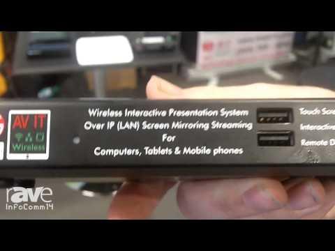 InfoComm 2014: TEQ AV IT Offers the WiPS710 Wireless Projection System