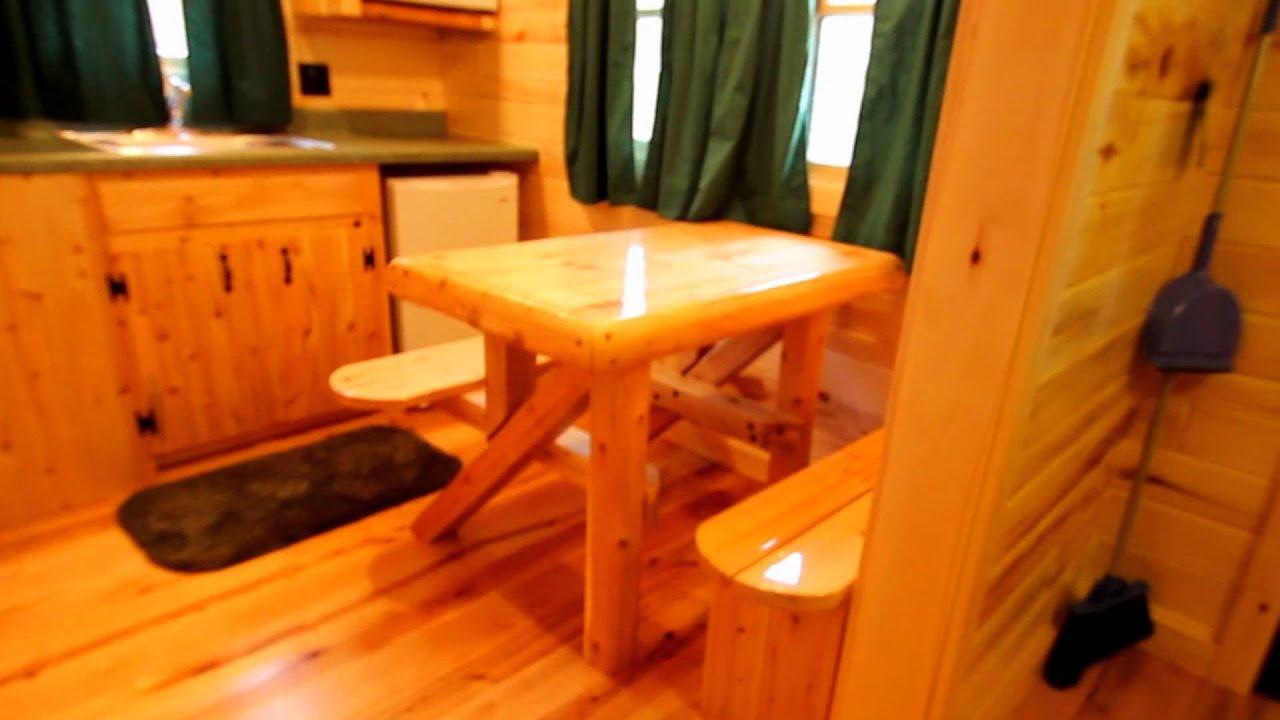 Medium Cabins At Mackinaw Mill Creek Camping In Mackinaw