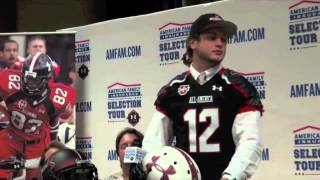 Ben Boulware Receives Honorary 2013 Under Armour All-America Jersey