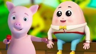 Humpty Dumpty | bebê música | rima para crianças | Nursery Rhyme | Compilation For Kids | Baby Song