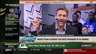FIRST TAKE  Marcus Spears RESPONDS Which team is under the most pressure in 1st round