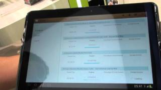Samsung Learning Hub demo