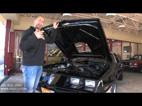 1979 Pontiac Firebird Trans Am 6.6L FOR SALE TEST DRIVE flemings ultimate garage