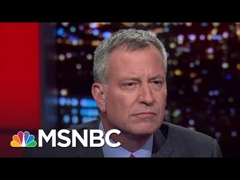 Mayor Bill de Blasio On 'CP Time' Joke, Political Donations | All In | MSNBC