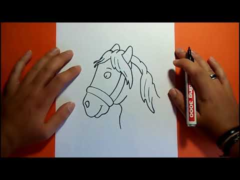 Como dibujar un caballo paso a paso 4 | How to draw a horse 4