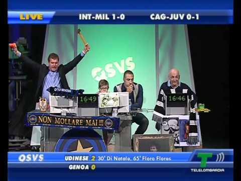 QSVS Inter-Milan 4-2 Cagliari-Juve 0-2 Juve campione d'Italia 1° tempo.avi