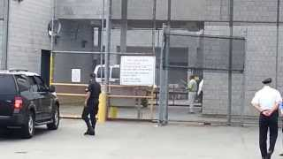 Aaron Hernandez Arrives at Bristol County House of Correction