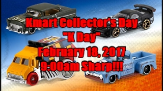 Kmart Collectors Day KDay 2017 Preview