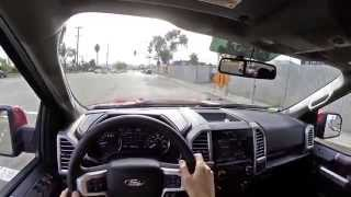 2015 Ford F-150 Ecoboost 3.5L - WR TV POV City Drive